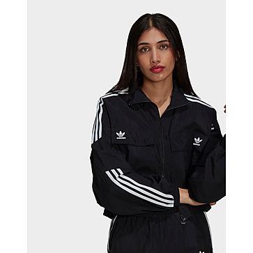 adidas Originals เสื้อแจคเก็ตผู้หญิง Adicolor Classics Disrupted Icon