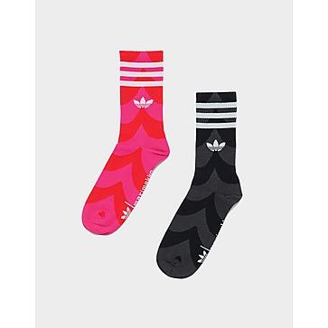 adidas ถุงเท้ายาว Marimekko (2 คู่)