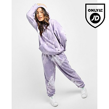 adidas Originals เสื้อฮู้ด Tie Dye Boyfriend