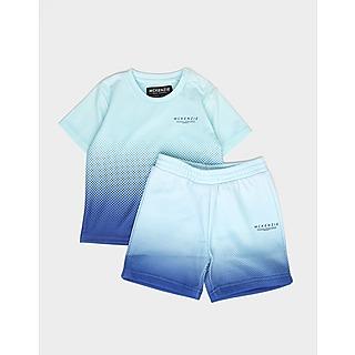 McKenzie ชุดเชทเด็กเสื้อยืดและกางเกงขาสั้น