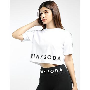 Pink Soda Sport เสื้อครอปผู้หญิง Micro TPE