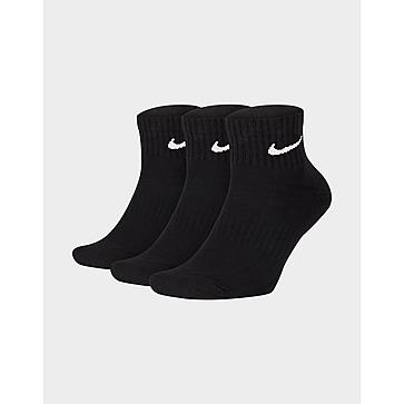 Nike Nike ถุงเท้าแพ็ค 3 คู่ Cushioned Quarter Socks