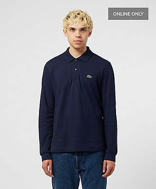 Lacoste Long Sleeved Classic Fit Pique Polo Shirt