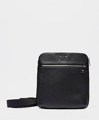 Emporio Armani Metallic Eagle Small Item Bag
