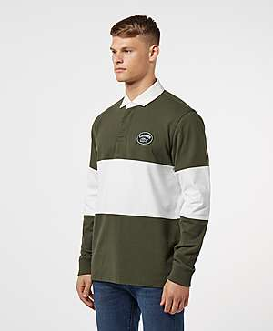 039f613b ... Lacoste Rugby Block Long Sleeve Polo Shirt