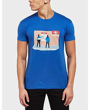 6139002b 80s Casuals Blues Station Short Sleeve T-Shirt - Exclusive ...