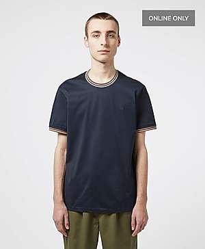 25877aeb8922 Aquascutum Mercer Short Sleeve Tipped T-Shirt ...