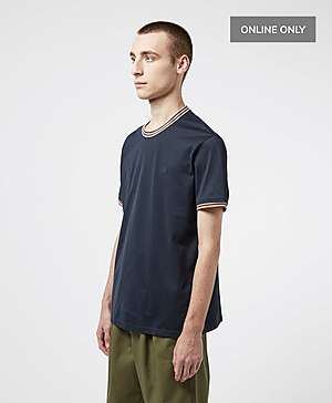 9ab312fea5a2 ... Aquascutum Mercer Short Sleeve Tipped T-Shirt