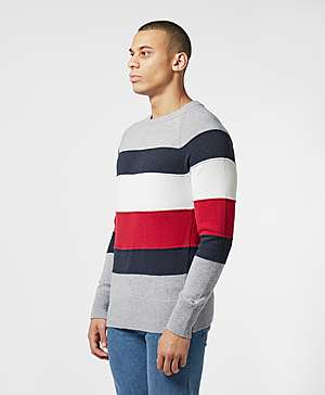 ba46afeb Tommy Hilfiger Colour Block Knitted Jumper Tommy Hilfiger Colour Block  Knitted Jumper