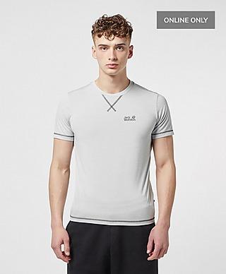 Jack Wolfskin Core Poly Short Sleeve T-Shirt