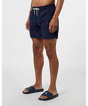 c55dce1b1001e Polo Ralph Lauren All Over Print Swim Shorts ...