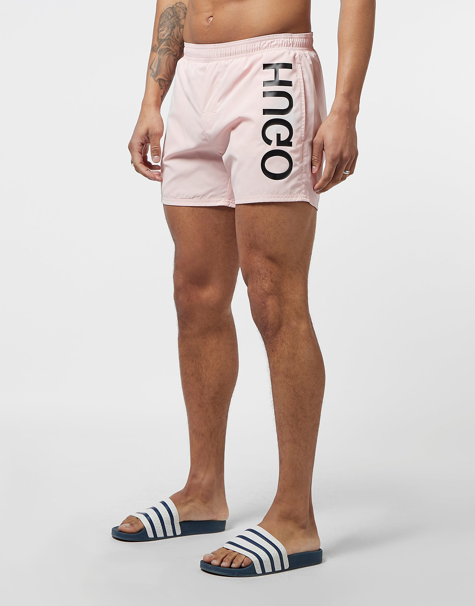 HUGO Logo Swim Shorts