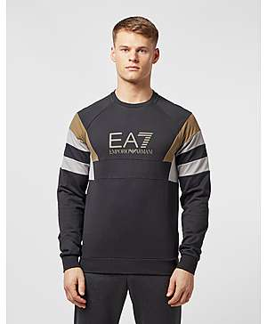 0cf7e9e86715 Emporio Armani EA7 Retro Panelled Sweatshirt - Exclusive ...