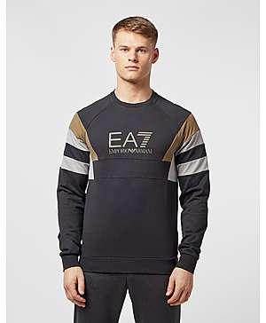 7ca47f4f Emporio Armani EA7 Retro Panelled Sweatshirt - Exclusive ...