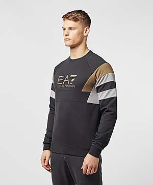 2878bc42cd77 ... Emporio Armani EA7 Retro Panelled Sweatshirt - Exclusive