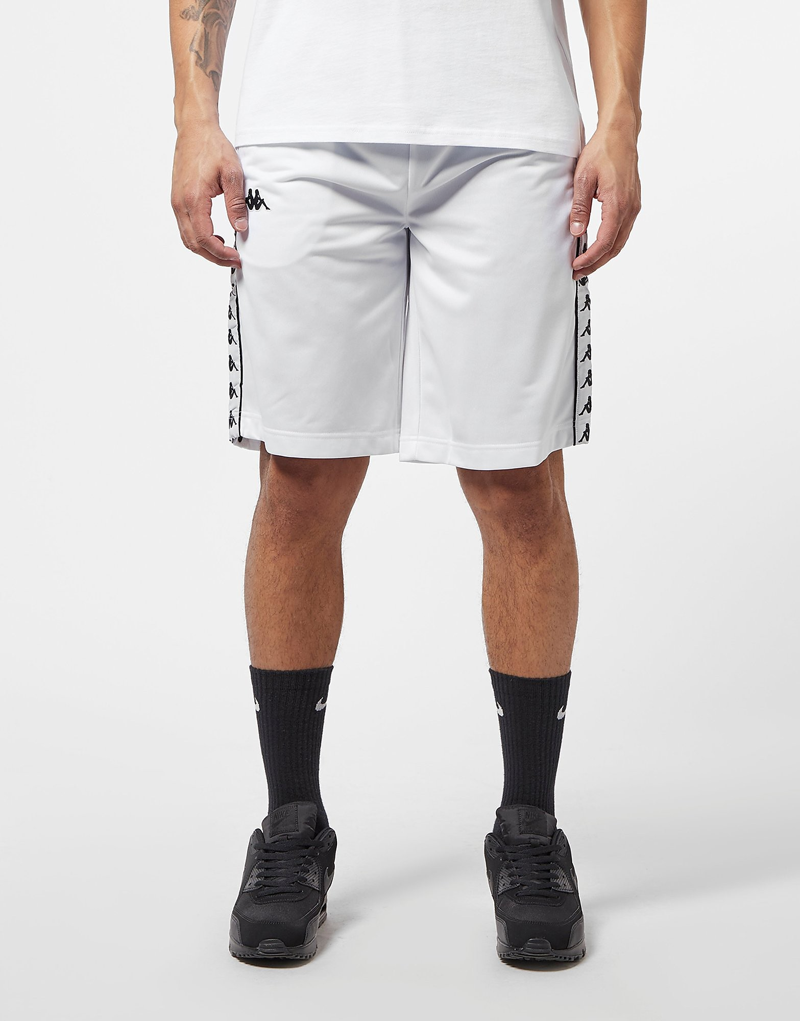 Kappa Banda Snap Button Tape Shorts