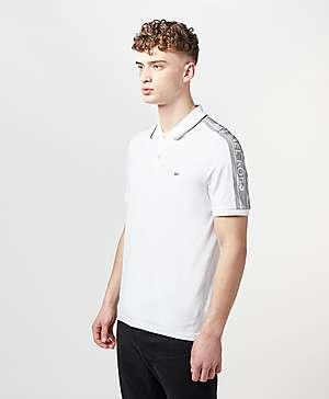 4746434a ... Michael Kors Tape Shoulder Short Sleeve Polo Shirt