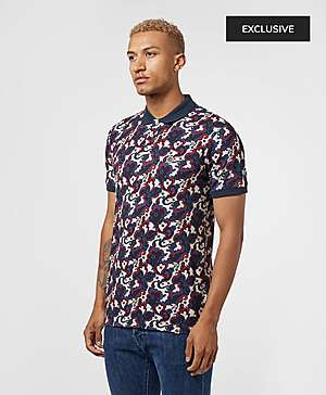 d47edce4 ... Pretty Green Beaufort Print Short Sleeve Polo Shirt - Exclusive
