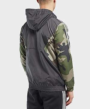 promo code 9e08b bf0a0 adidas Originals Camo Lightweight Windbreaker Jacket adidas Originals Camo  Lightweight Windbreaker Jacket