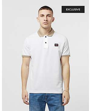 05950072 Paul and Shark Contrast Short Sleeve Polo Shirt - Exclusive ...