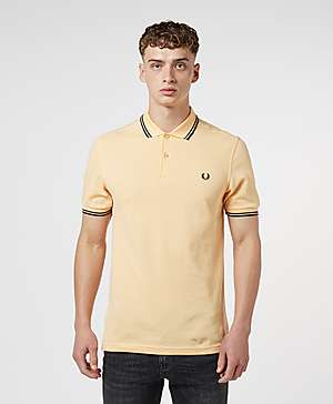 bceb6cb4b Fred Perry Twin Tipped Short Sleeve Polo Shirt ...