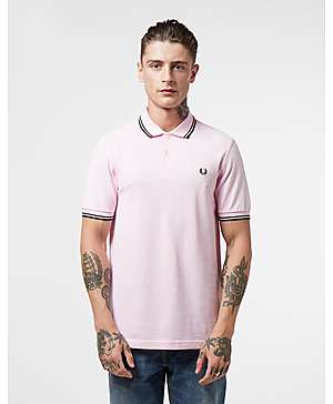 16caa9a66 Fred Perry Twin Tipped Short Sleeve Polo Shirt ...