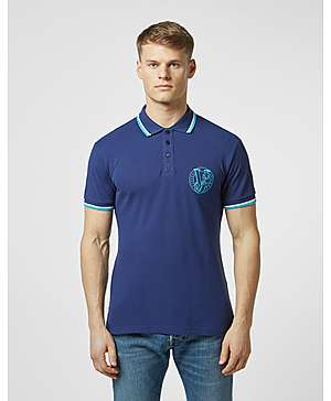 638b8e542 Versace Jeans Stitch Logo Short Sleeve Tipped Polo Shirt ...
