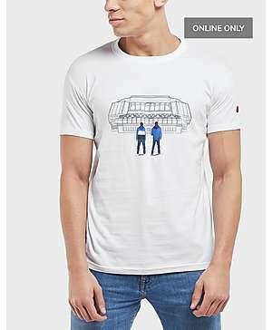 516313db 80s Casuals Rangers Stadium Short Sleeve T-Shirt ...