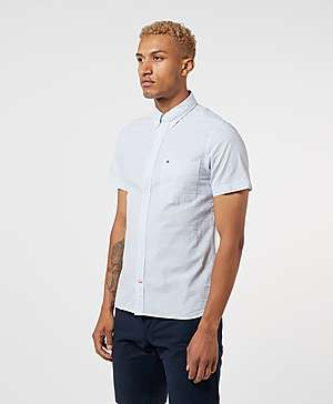 2fc549d2 Tommy Hilfiger Seersucker Short Sleeve Shirt Tommy Hilfiger Seersucker  Short Sleeve Shirt