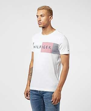 d2549085 ... Tommy Hilfiger Corporate Chest Short Sleeve T-Shirt
