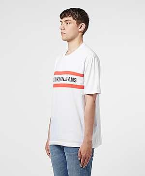 f181b7d8c ... Calvin Klein Chest Stripe Short Sleeve T-Shirt