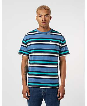 3abe5c2a Tommy Jeans Multi Stripe Short Sleeve T-Shirt ...