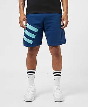 e2b952ef0d9 adidas Originals Sport 90s Trefoil Fleece Shorts adidas Originals Sport 90s  Trefoil Fleece Shorts