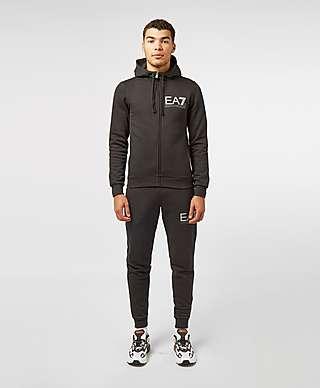 adidas Originals sweatshirt in black with orange piping