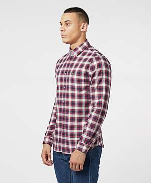 6015bcef Lacoste Fine Check Long Sleeve Shirt Lacoste Fine Check Long Sleeve Shirt