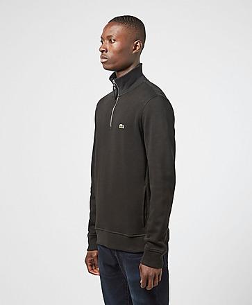 Lacoste Pique Half Zip Sweatshirt