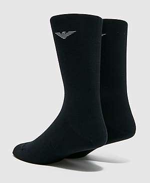 2fa571874 ... Emporio Armani 2-Pack Eagle Socks