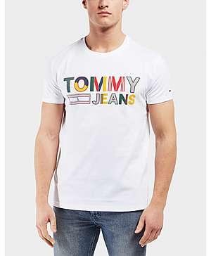 db13b842 Tommy Hilfiger Multi Logo Short Sleeve T-Shirt ...