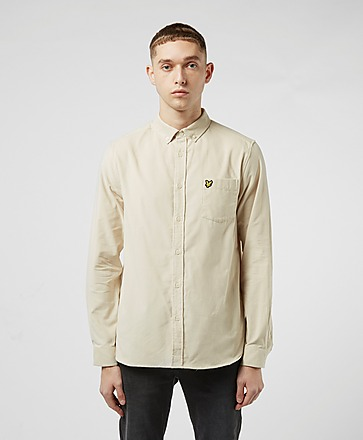 Lyle & Scott Baby Cord Long Sleeve Shirt