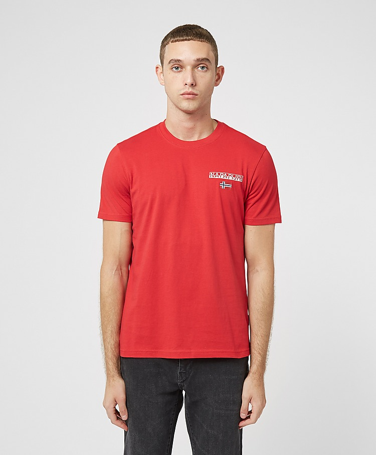 Napapijri Ice Small Logo Short Sleeve T-Shirt