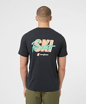 Berghaus Powder Ski Back Logo T-Shirt