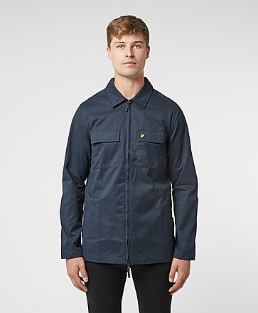 Lyle & Scott Cotton Nylon Overshirt