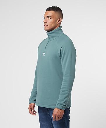 adidas Originals Trefoil Half Zip Sweatshirt