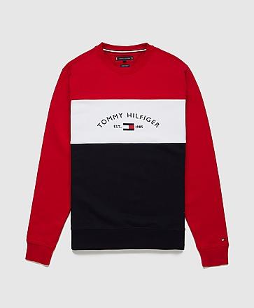 Tommy Hilfiger Arch Logo Colour Block Sweatshirt
