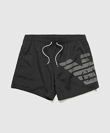 Emporio Armani Loungewear Bold Eagle Swim Shorts