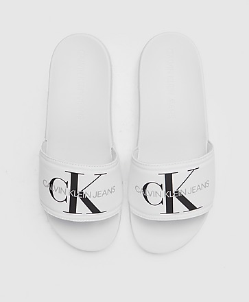 Calvin Klein Jeans Monogram Large Logo Slides