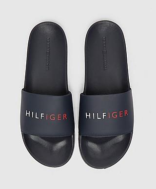 Tommy Hilfiger Raised Logo Slides