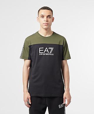 Emporio Armani EA7 Colour Block Tape T-Shirt