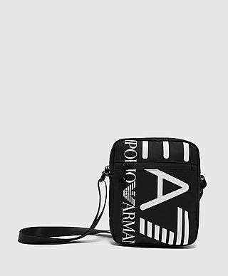 Emporio Armani EA7 Oversized Logo Cross Body Bag