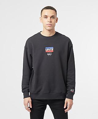 Levis Central Sports Logo Sweatshirt